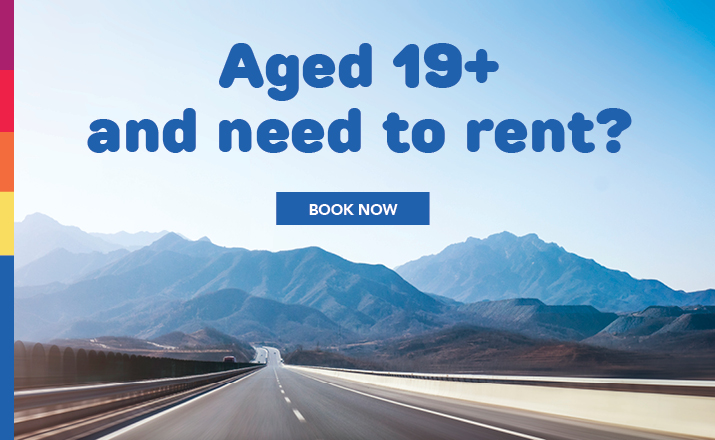 Over 19 and ready to rent?